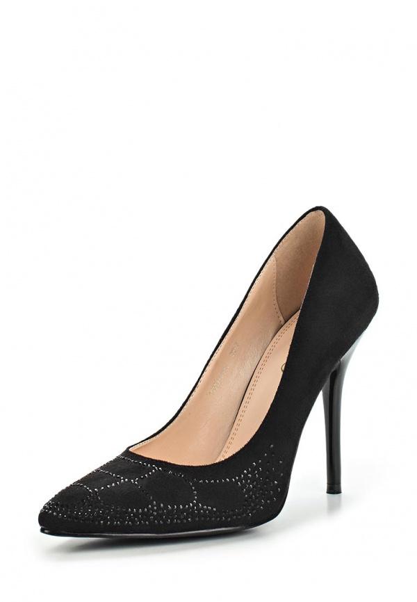 Туфли Inario 15417-01-1 чёрные
