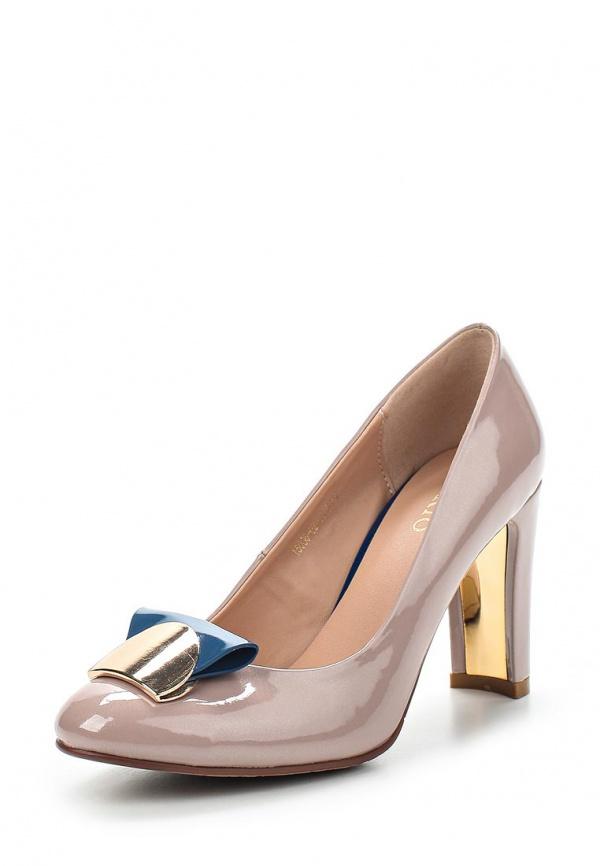 Туфли Inario 15036-02-19 бежевые