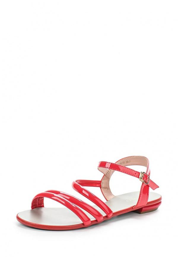 Сандалии Inario 15097-06-15 красные