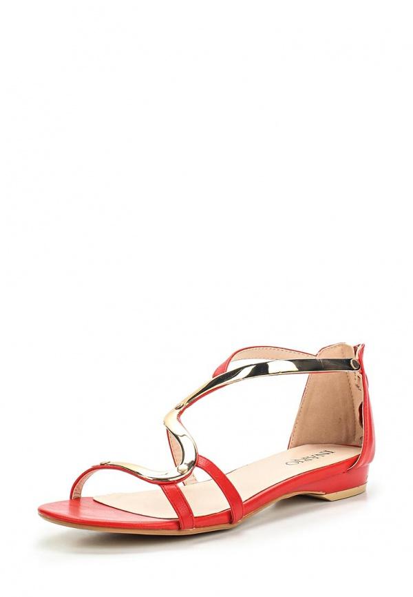 Сандалии Inario 15072-01-5 красные