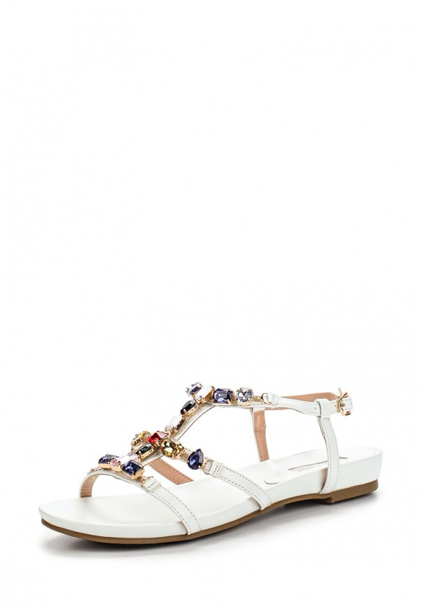 Сандалии Inario 15017-08-2 белые