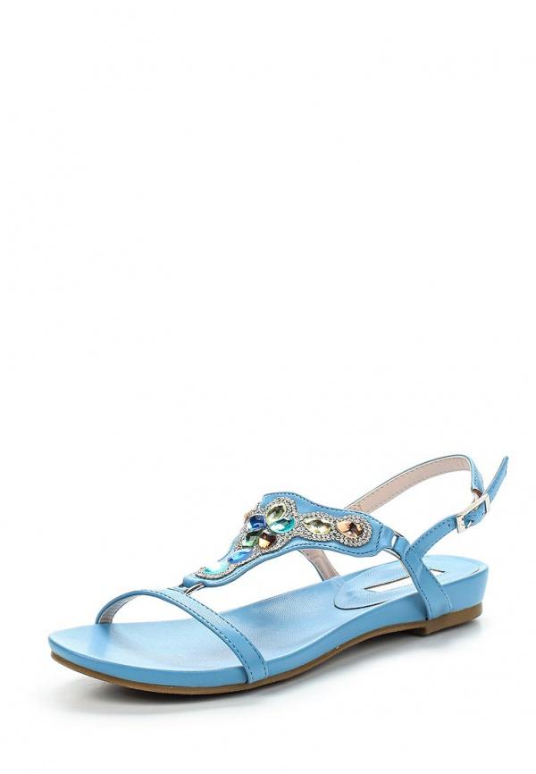 Сандалии Inario 15017-02-9 голубые