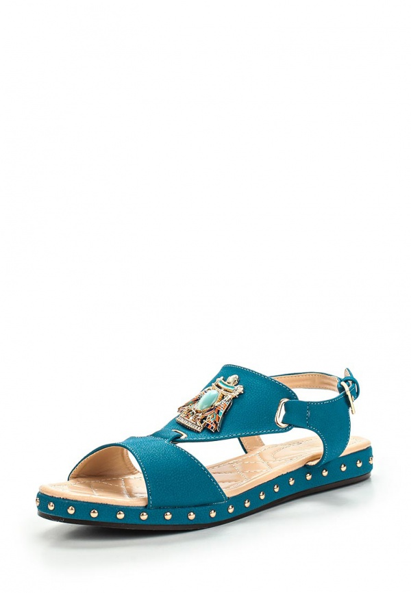 Сандалии Inario 15048-02-13 голубые