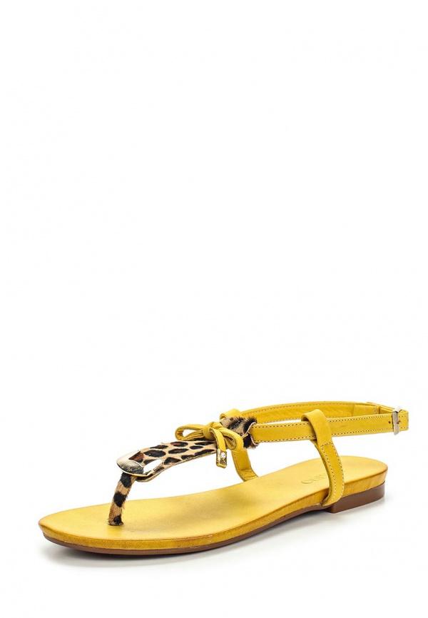 Сандалии Inario 302226 жёлтые