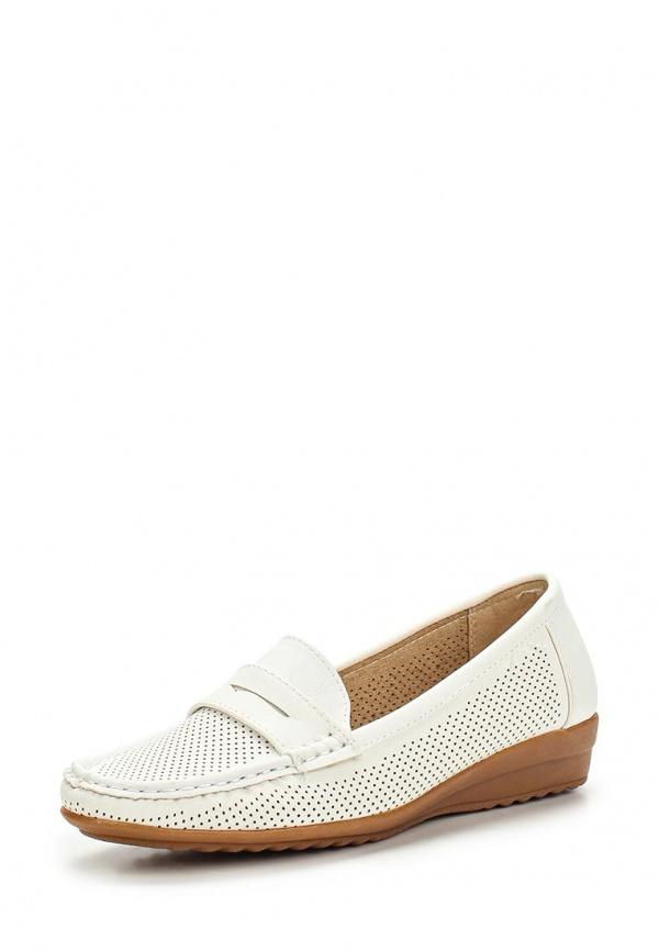 Мокасины Max Shoes 555-43 белые