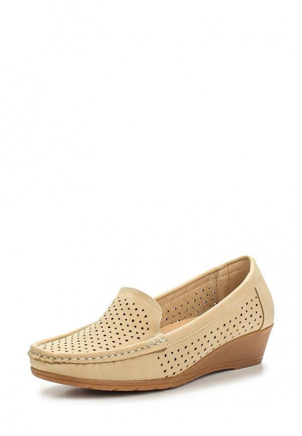 Лоферы Max Shoes 555-45 бежевые