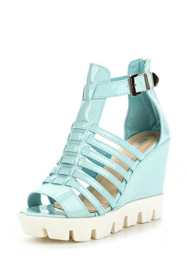 Босоножки Max Shoes M116 голубые