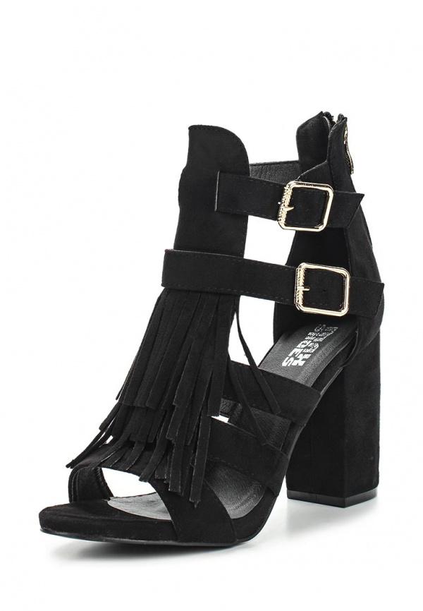 Босоножки Max Shoes LT01 чёрные