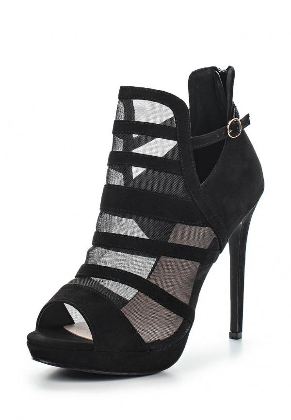 Ботильоны Max Shoes 91053-21 чёрные