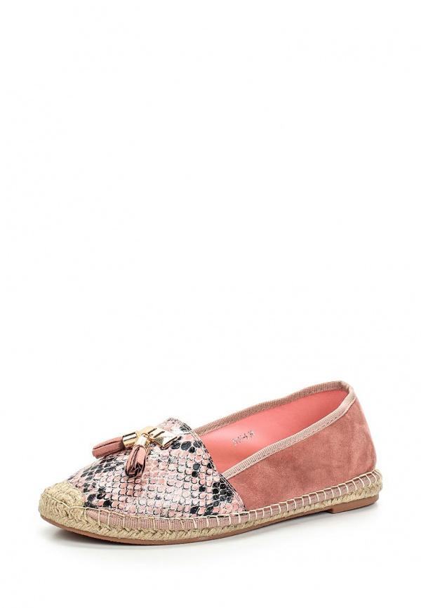 Эспадрильи Max Shoes 2000-9 розовые