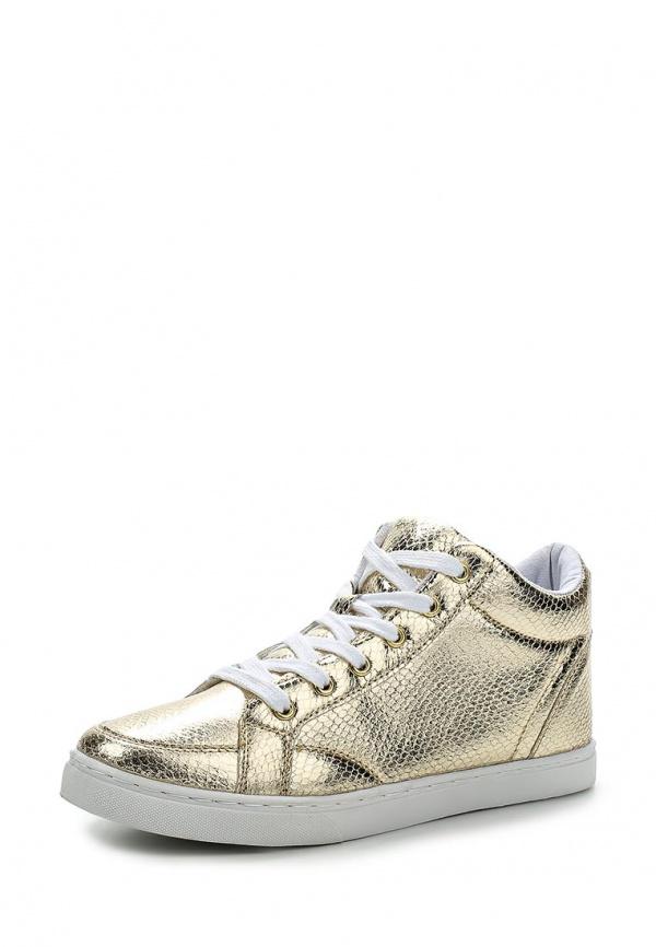 Кеды Max Shoes T02 золотистые
