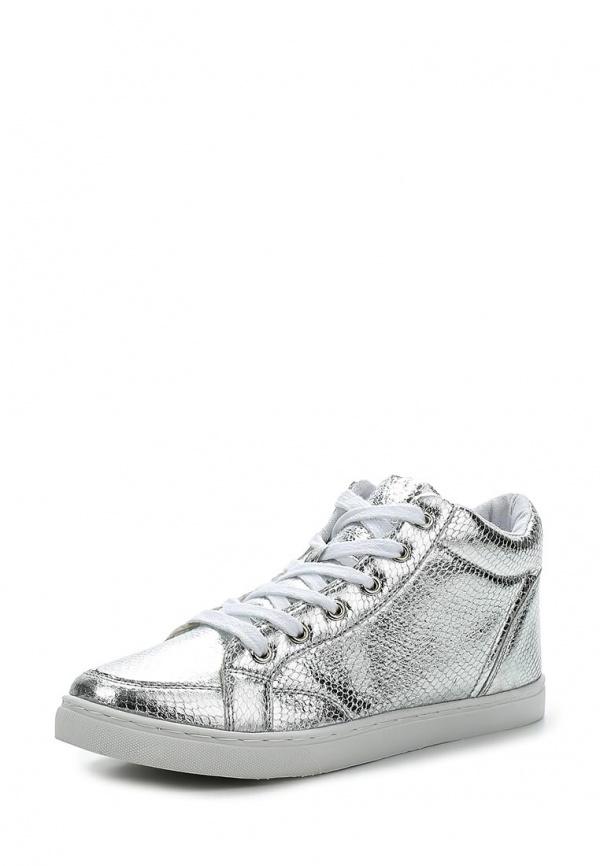 Кеды Max Shoes T02 серебристые