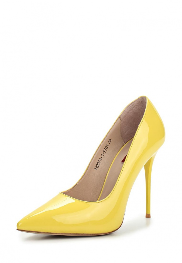 Туфли Milana 142074-1-7701 жёлтые