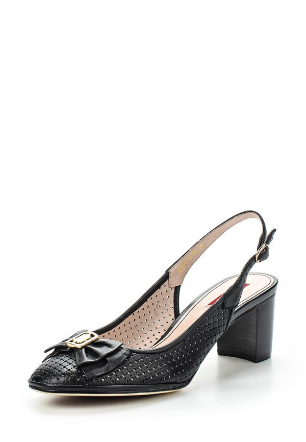 Туфли Milana 151097-2-1101 чёрные