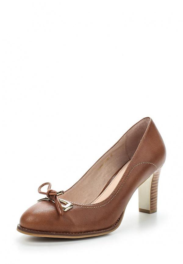 Туфли Milana 151098-1-1261 коричневые