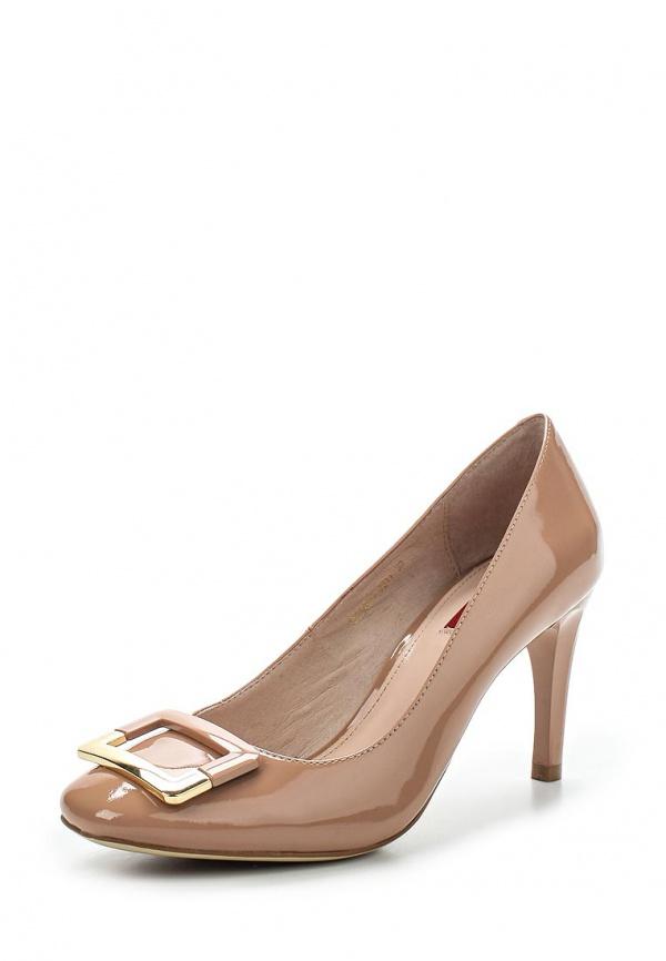 Туфли Milana 151102-1-7211 бежевые
