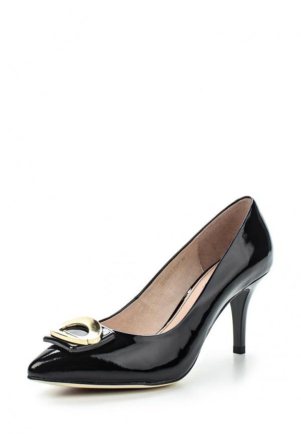 Туфли Milana 151103-1-7101 чёрные