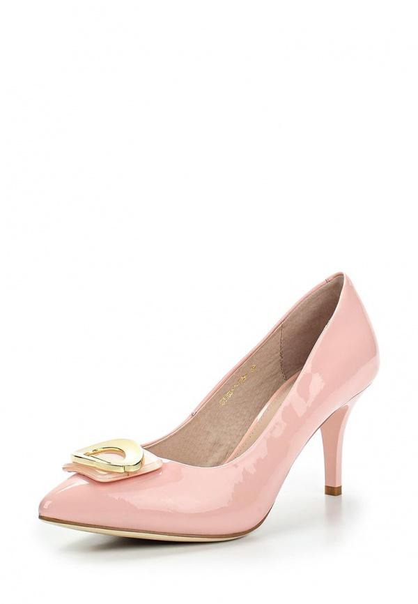 Туфли Milana 151103-1-7431 розовые