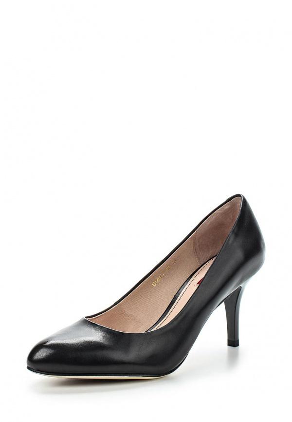 Туфли Milana 151109-1-1101 чёрные