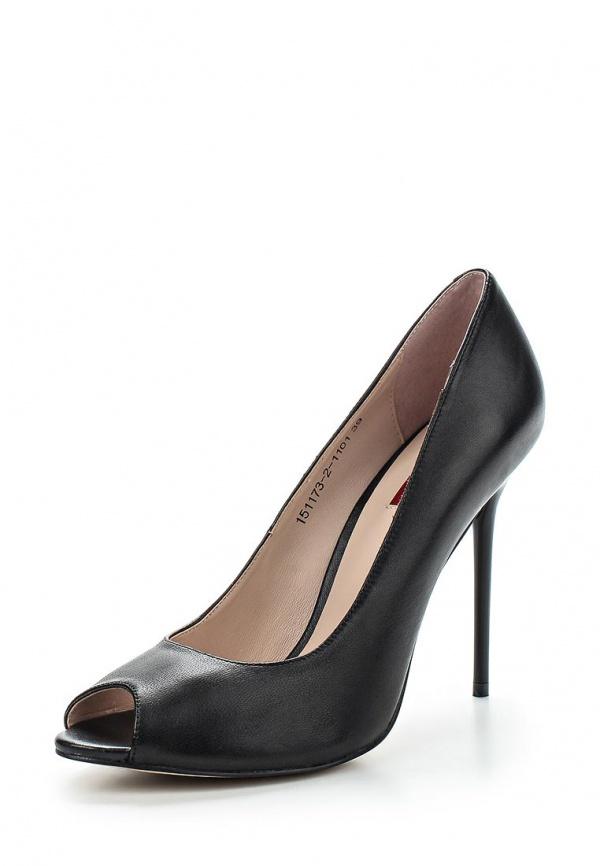 Туфли Milana 151173-2-1101 чёрные