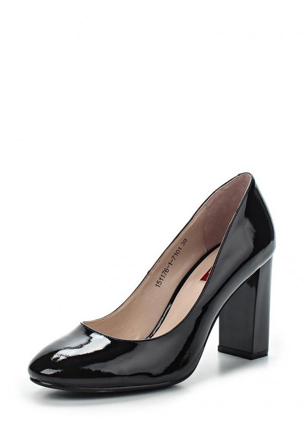 Туфли Milana 151176-1-7101 чёрные