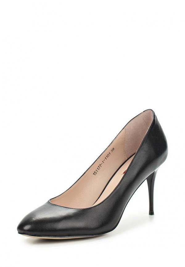 Туфли Milana 151177-1-1101 чёрные