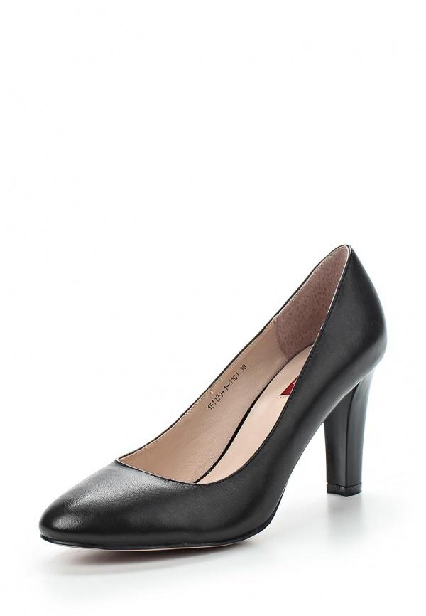 Туфли Milana 151179-1-1101 чёрные