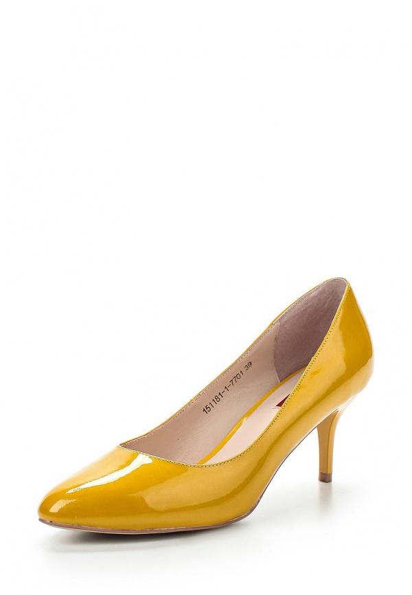 Туфли Milana 151181-1-7701 жёлтые