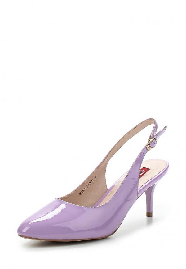 Босоножки Milana 151181-2-7521 фиолетовые