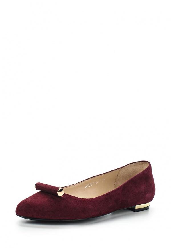 Туфли Milana 151202-1-2411 бордовые