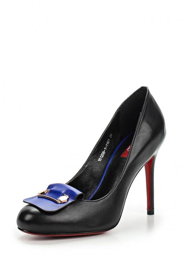 Туфли Milana 151206-1-1101 чёрные
