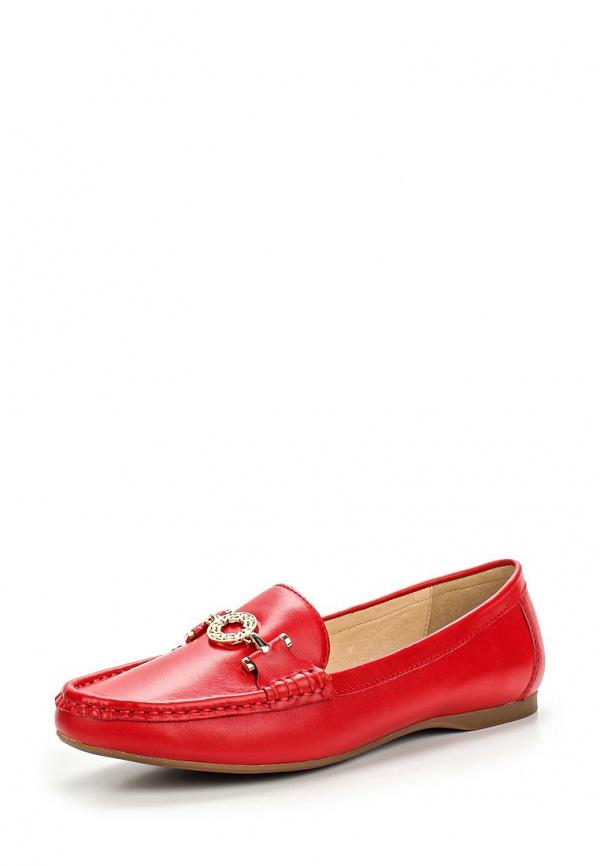 Мокасины Milana 151250-1-1401 красные