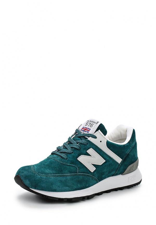 Кроссовки New Balance W576PTG зеленые