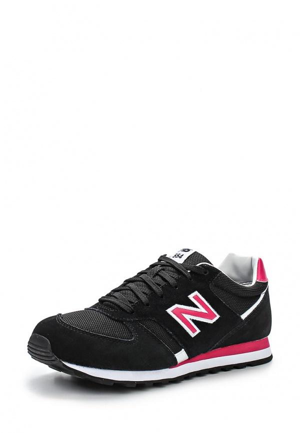 Кроссовки New Balance WL554SMK чёрные