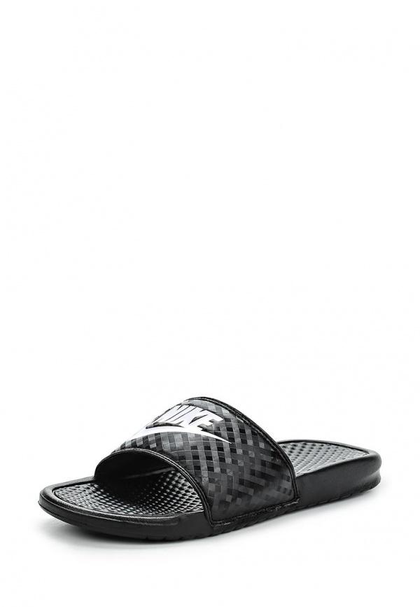 Сланцы Nike 343881-011 чёрные