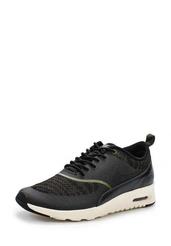 Кроссовки Nike 718646-300 зеленые, чёрные