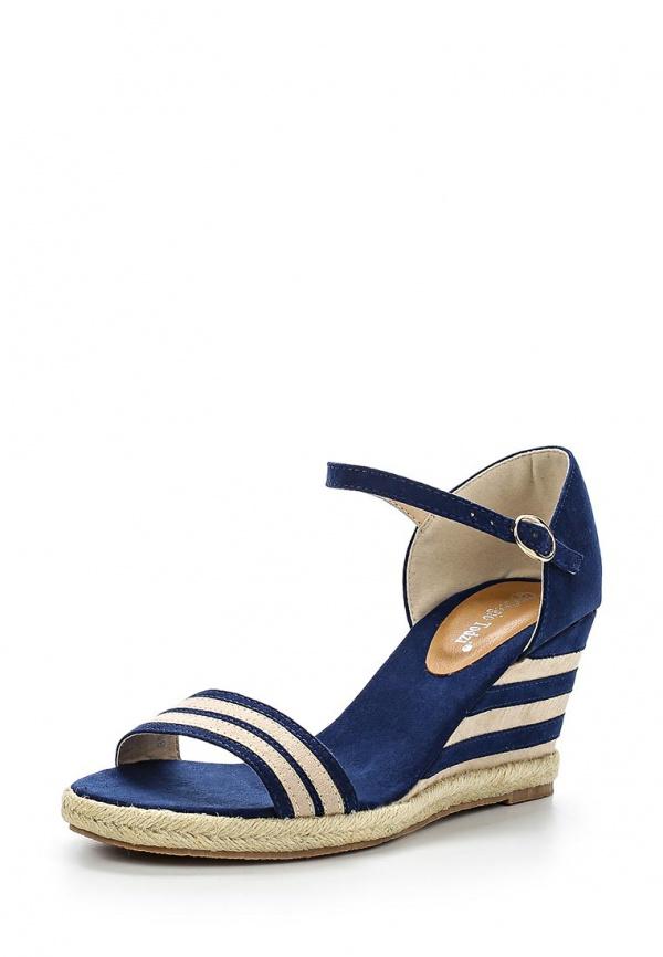 Босоножки Sergio Todzi L871 синие