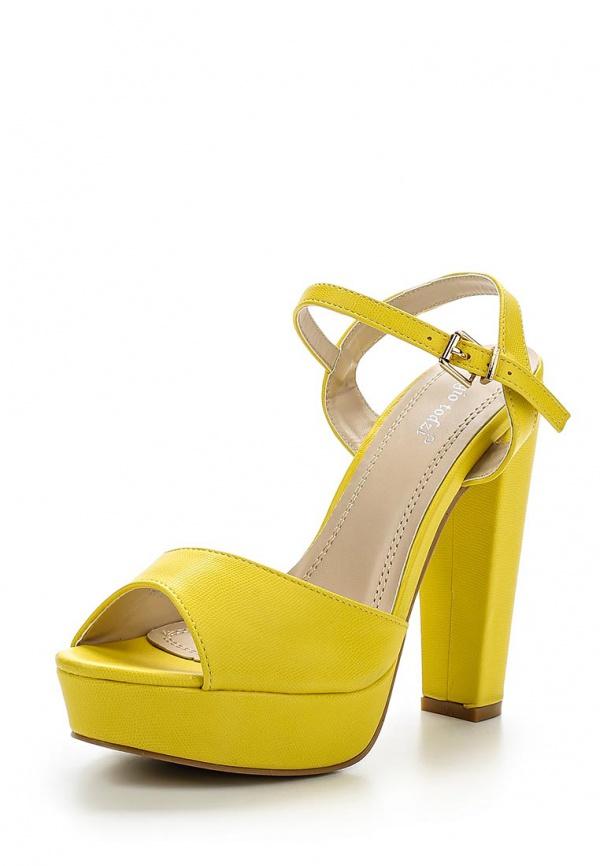 Босоножки Sergio Todzi PA251 жёлтые