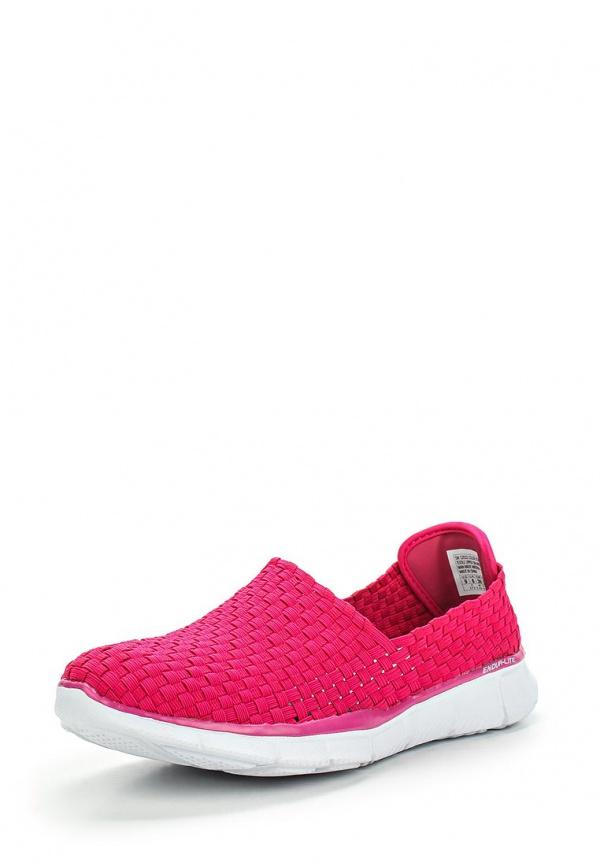 Слипоны Skechers 12032 розовые