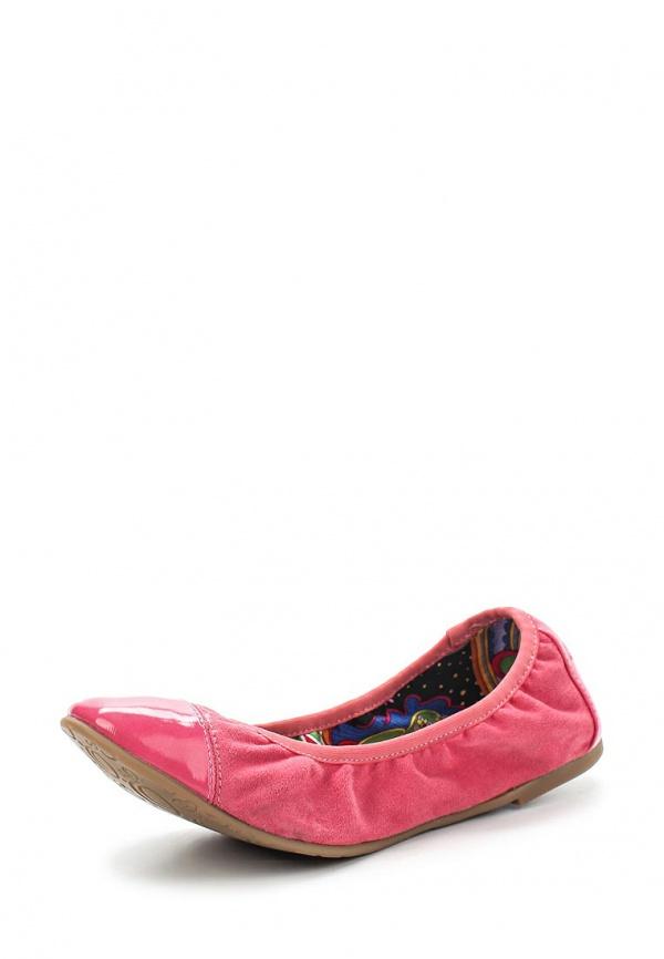 Балетки s.Oliver 5-5-22101-24 розовые