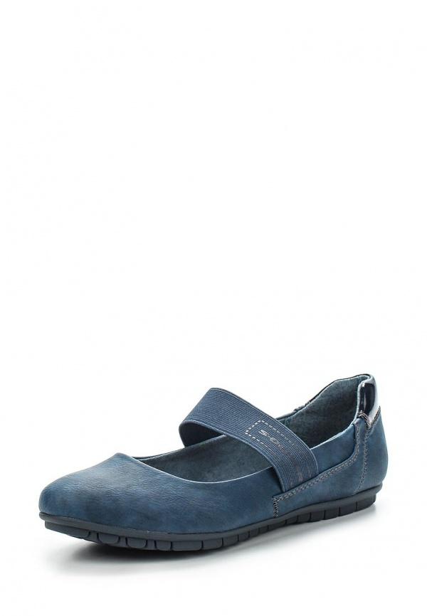 Балетки s.Oliver 5-5-24222-34 синие