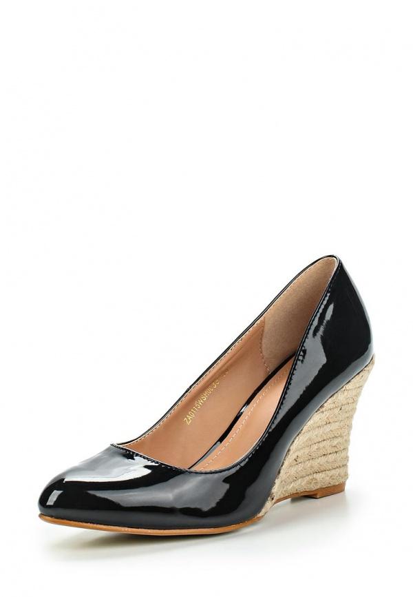 Туфли Zalora ZA0115WSH0033C чёрные