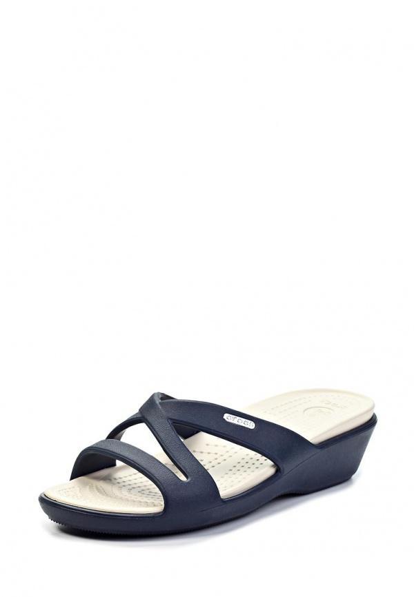 Сланцы Crocs 11661-46K синие