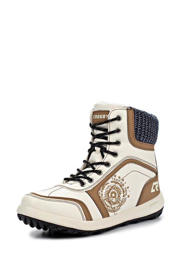 Ботинки Crosby 324371/02#1 белые