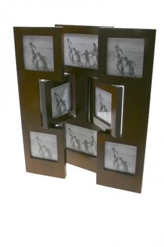 """Рамки для нескольких фото Красный куб Рамка для 8-ми фото """"Ширма"""""""
