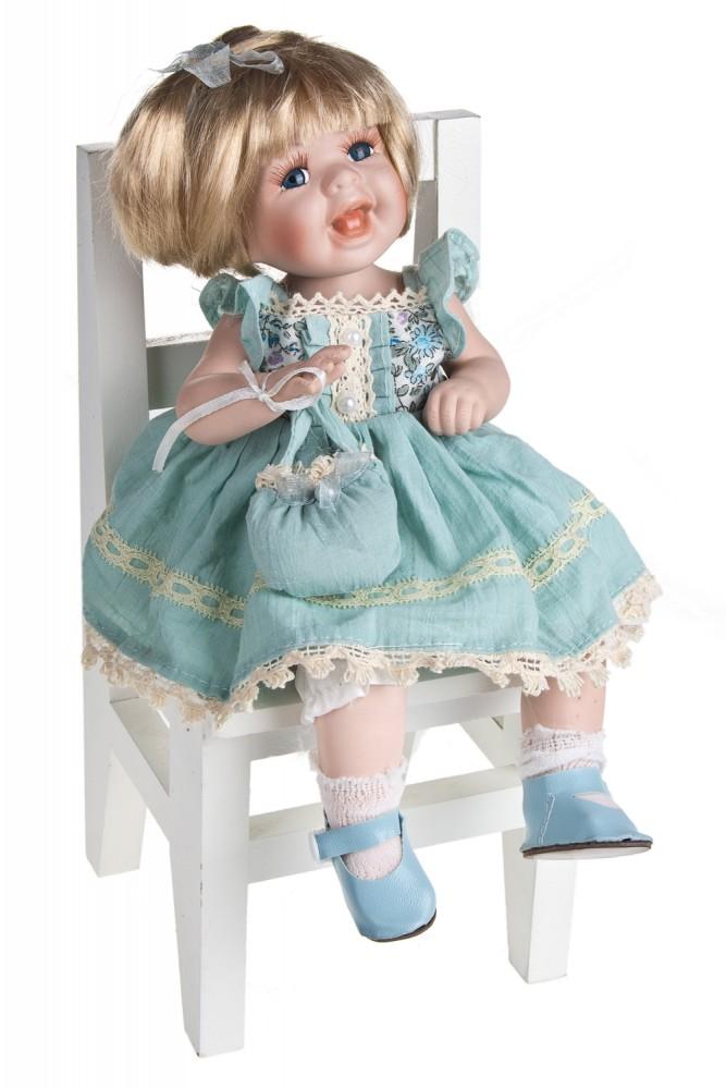 """Фарфоровые куклы Красный куб Кукла """"Хохотушка"""""""