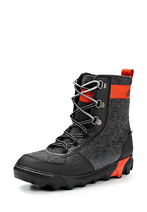 Ботинки трекинговые adidas Performance M18759 серые, чёрные
