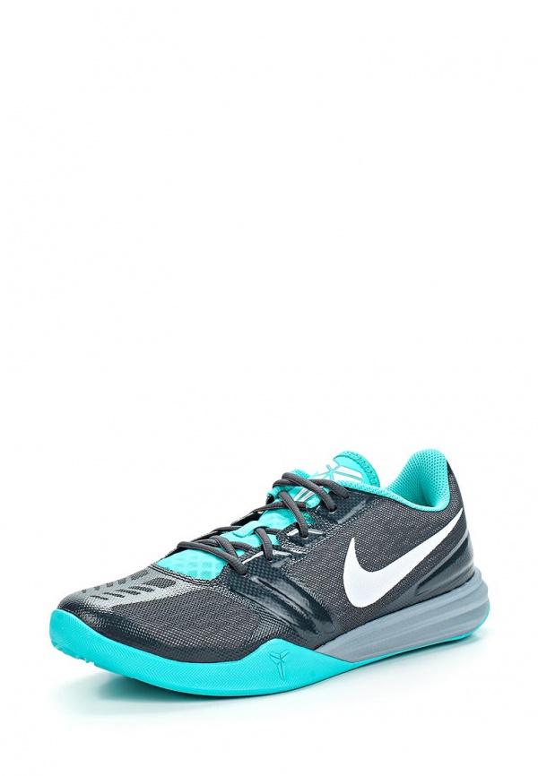 Кроссовки Nike 704942-006 бирюзовые, чёрные