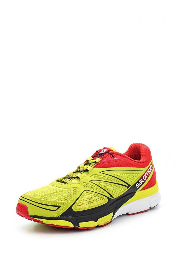 Кроссовки Salomon L36889200 жёлтые, красные