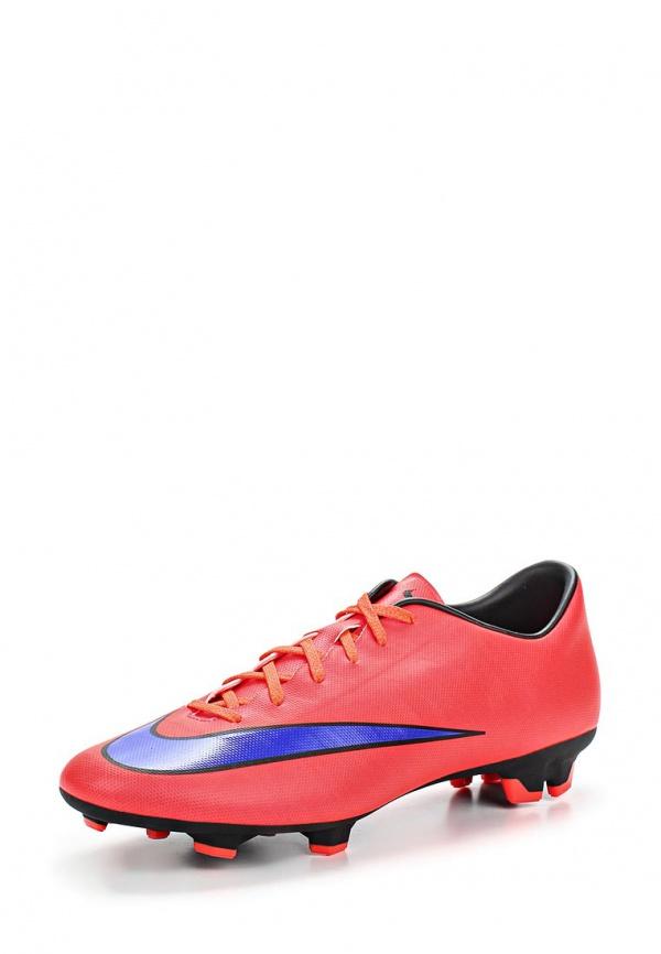 Бутсы Nike 651632-650 красные